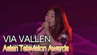 Hari Ke-2 Via Vallen di Asian Television Awards 2019