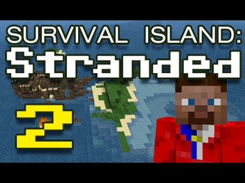 Minecraft Survival Map: Stranded: E2 – Time to explore!