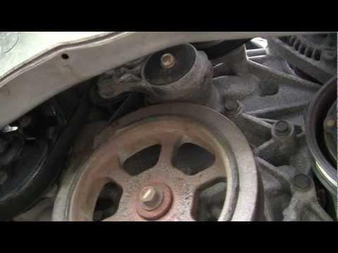 Dodge Caravan 3.3L 3.8L water pump replacement.mp4