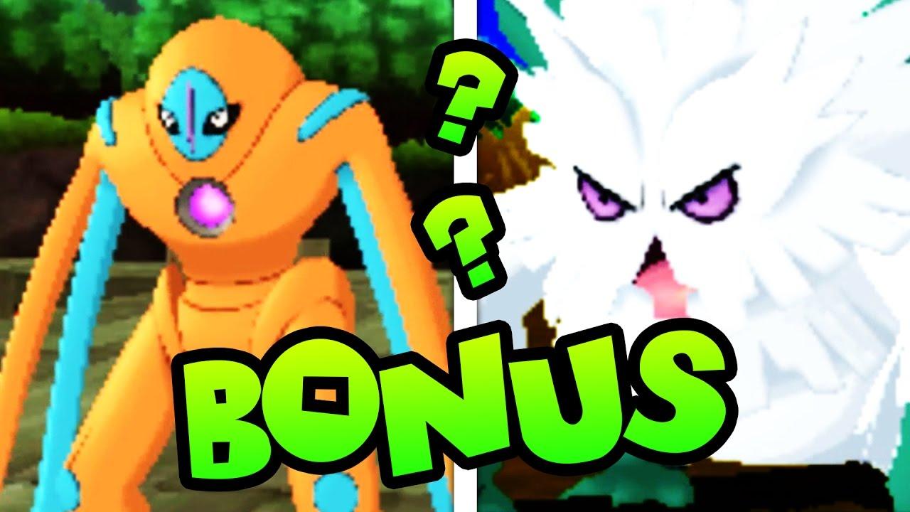 CELERY THE CELEBI FROM SEREBII   Pokemon Sun Randomizer BONUS #5   Mega and Legend Encounters!