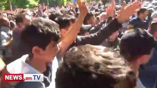 Բաղրամյան պողոտայում անկարգություններ սկսվեցին #ՆիկոլՓաշինյան #NikolPashinyan