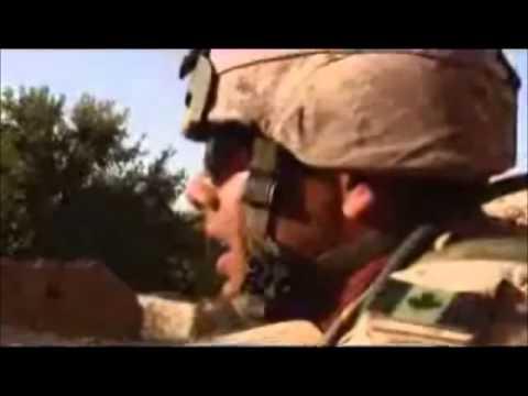 Disturbed - Stricken - Afghanistan War Combat Footage