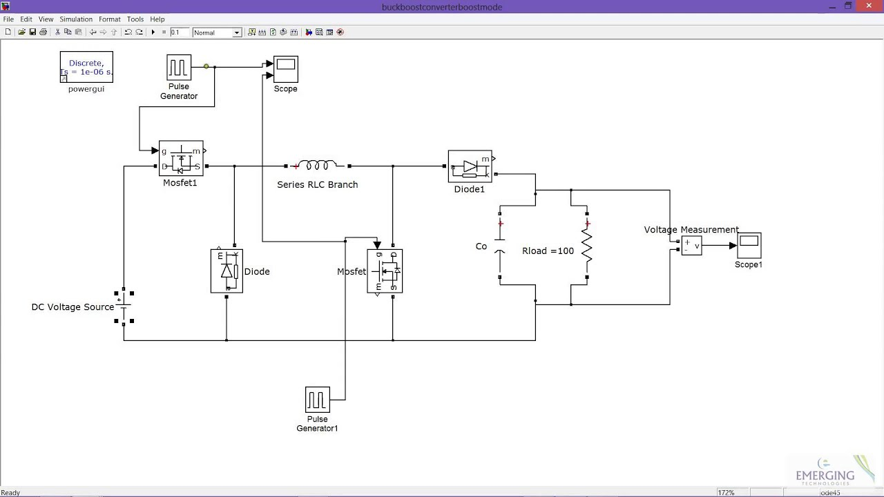 Tutorial: DC/DC Buck Converter Voltage and Current Regulation