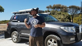 Caravan Tow Vehicle Tour - Our Land Cruiser 200 Series