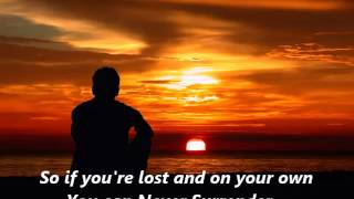 """""""Never Surrender"""" by Corey Hart (Lyrics included)"""