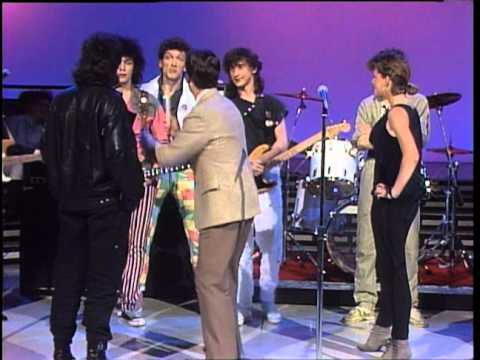 Dick Clark Interviews Lady Pank - American Bandstand 1985