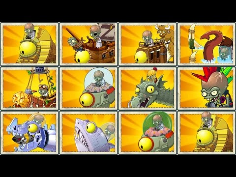 Plants vs Zombies 2 Final Boss: All Zomboss Fight!
