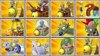 Plants vs Zombies 0 Final Boss: All Zomboss Fight!
