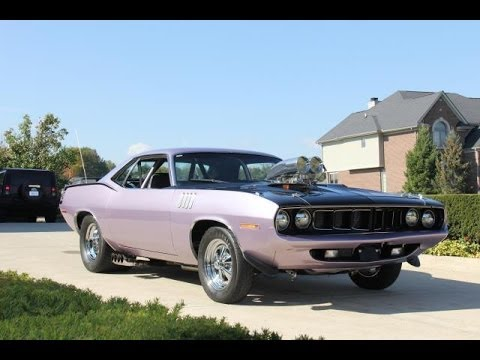 1971 plymouth cuda test drive classic muscle car for sale for Vanguard motors plymouth michigan
