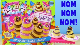 Yummy Nummies Birthday Cake Maker - Make 6 Mini Birthday Cakes!