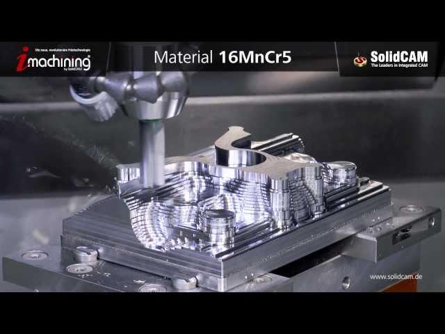 iMachining 3D - Formteil schruppen
