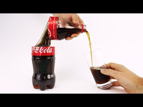 How to Cut Coca Cola Without Spilling it