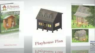 10 Complete Playhouse Plans