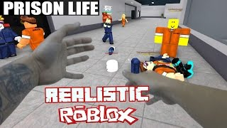 REALISTIC ROBLOX - ESCAPING ROBLOX PRISON IN REAL LIFE! Real Life Roblox - Prison Life Prison Escape