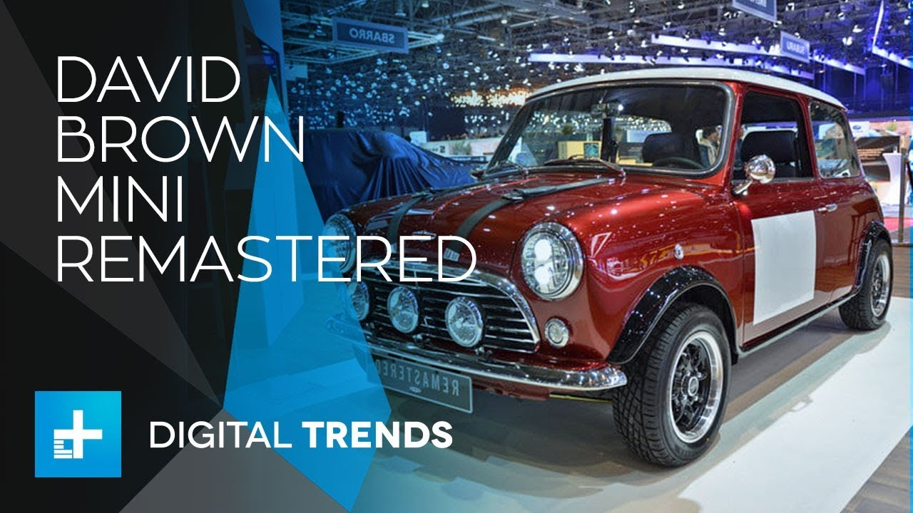 David Brown Mini Remastered First Look At Geneva Motor Show 2018