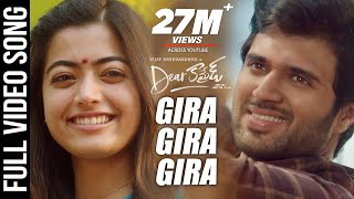 Dear Comrade Video Songs - Telugu | Gira Gira Video Song | Vijay Deverakonda,Rashmika | Bharat Kamma