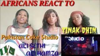 Tinak Dhin, by Ali Sethi, Ali Hamza & Waqar Ehsin | Coke Studio Season 10 reaction video by the AGA