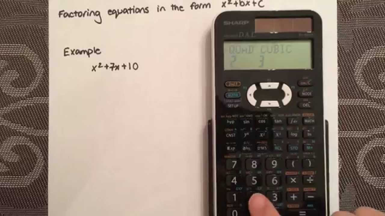 quadratic formula calculator This free quadratic formula calculator solves the quadratic formula given values for a, b, and c learn more about its derivation, and also explore hundreds of other calculators covering topics including math, finance, health, fitness, and more.