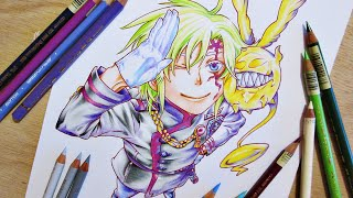 Drawing Allen Walker || D.Gray-man Hallow ディー・グレイマン ハロー