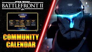 Blaster Only HvV, Commandos, Felucia & More! September Community Calendar - Star Wars Battlefront 2