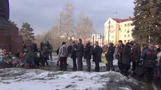 Челябинск возложение цветов в память о погибших в Кемерово