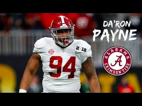 "Da'Ron Payne || ""THE BEAST"" || Alabama Career Highlights || 2015 - 2018"