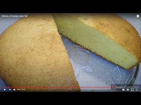 gâteau-à-l'orange-sans-lait
