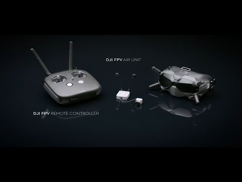 Фото DJI - Introducing the DJI Digital FPV System