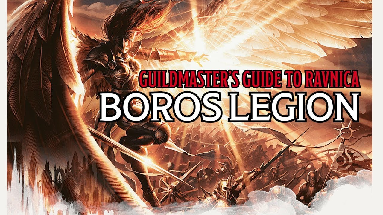 D&D: Buddying Up With The Boros Legion - Guilds Of Ravnica
