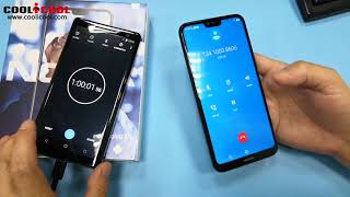 Nokia X6  regarding battery drain test and battery charging test Video