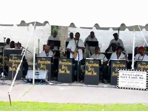 Preservation Jazz Band at Jazz on the Mountain plays Georgia