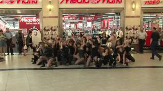 Christina Aguilera - Not Myself Tonight - flash mob (Budapest)