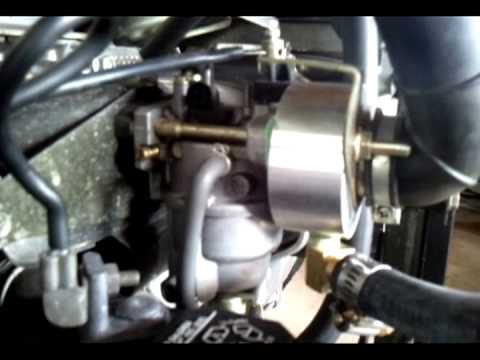 Honda ES6500 Generator; Natural Gas Conversion - YouTube