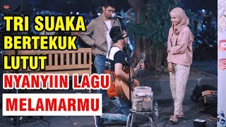 MELAMARMU - BADAI ROMANTIC PROJECT (LIVE AKUSTIK) COVER BY TRI SUAKA