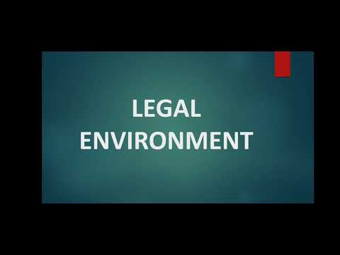 Class 22 Legal Environment