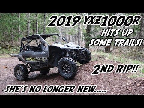 My New 2019 Yamaha YXZ1000R Hits the Trails | YXZ1000 | Yamaha UTV Goes Trail Riding | LaDee Flats