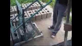 видео по производству шлакоблока