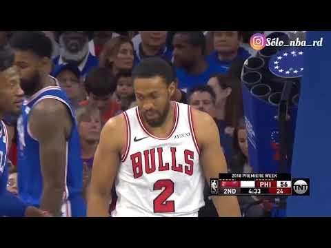 Resumen del partido completo Philadelphia Sixers Vs Chicago Bulls temporada regular nba