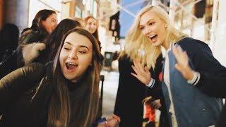 Taking Over a Calvin Klein Pop Up   Karlie Kloss