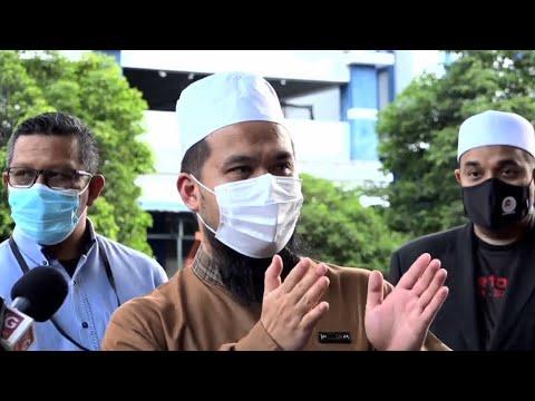 [LANGSUNG] Sidang media Ustaz Ebit Lew selepas membuat laporan polis
