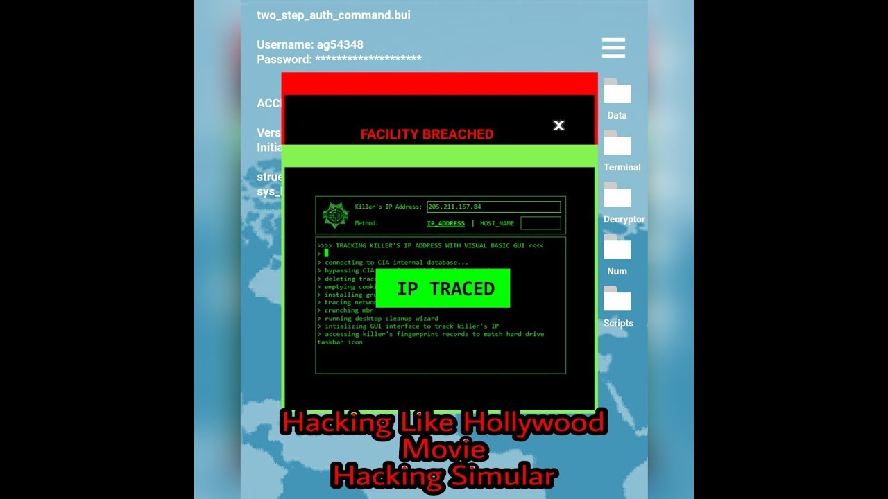 Hacking! HACKING LIKE A PROGRAMMER IN MOVIES AND GAMES Prank