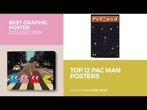 Top 12 Pac Man Posters // Best Graphic Poster Collection