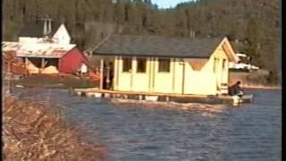 Flytende hytte - Ole Dalen