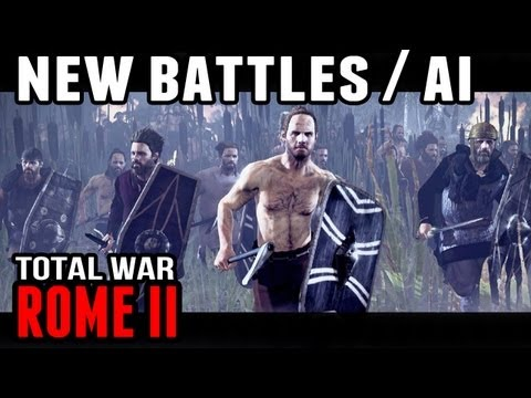 Rome II: Total War - New AI and Battle Details |