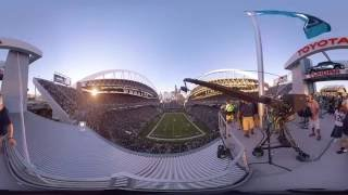Experience Seahawks Gameday at CenturyLink Field in 360
