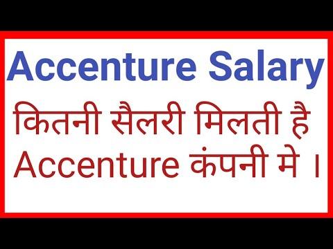 Accenture Salary 2019