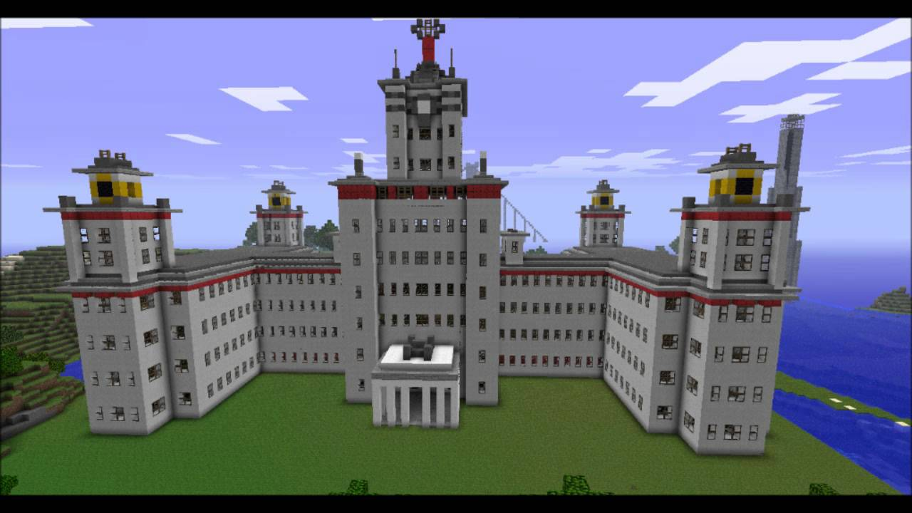 Les incroyables constructions de minecraft ep02 youtube - Video minecraft construction ...