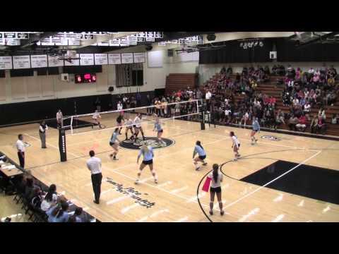 Valley Christian vs Archbishop Mitty volleyball, set 4