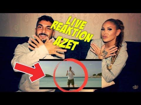 AZET - Überlebt (live Reaktion) | Lisha&Lou