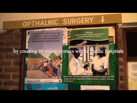 New Public-Private- Partnership to transform state of eye health in  Malawi